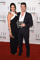 Lauren Silverman and Simon Cowell at the Elle Style Awards 2015 at Sky Bar, Walkie Talkie Building, London, 24/02/2015 Picture by: Steve Vas / Featureflash