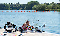 Caversham, Reading, . United Kingdom.  Rachel MORRIS, Boating,  GBRowingteam, Paralympic  Team  For 2016 Rio Games.   Tuesday,  19/07/2016,         [Mandatory Credit Peter Spurrier/Intersport Images]