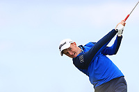 Ronan Mullarney (Galway) on the 10th tee during Round 4 of The East of Ireland Amateur Open Championship in Co. Louth Golf Club, Baltray on Monday 3rd June 2019.<br /> <br /> Picture:  Thos Caffrey / www.golffile.ie<br /> <br /> All photos usage must carry mandatory copyright credit (© Golffile | Thos Caffrey)
