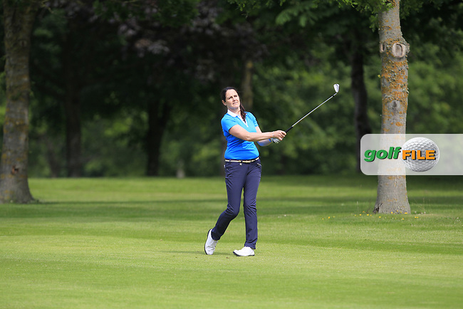 Hazel Kavanagh (Carr Golf Centre at Spawell) on the 7th fairway during Round 2 of the Titleist &amp; Footjoy PGA Professional Championship at Luttrellstown Castle Golf &amp; Country Club on Wednesday 14th June 2017.<br /> Photo: Golffile / Thos Caffrey.<br /> <br /> All photo usage must carry mandatory copyright credit     (&copy; Golffile | Thos Caffrey)