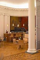 The wine bar at the Maison de Vin CIVB, Allees de Tourny. Bordeaux city, Aquitaine, Gironde, France