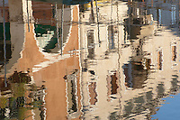 Reflections In Water - Chiooga Venice Italy