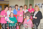 Enjoying the tea party in aid of the Alzheimer Society of Ireland in Our lady of Lourdes Care Facility Kilcummin on saturday was front l-r: Kathleen Delaney and Maura Healy. Back row: Mags Cronin, Eleanor Roche, Eileen O'Connor, Chris Looney, Anne Foley, Bernie Nagle and Debbie Baxter