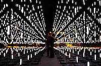 Amsterdam Light Festival. Lichtkunst.  Alley of Light