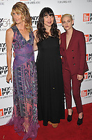 NEW YORK, NY - OCTOBER 03: Laura Dern, Lilly Gladstone, Kristen Stewart attend the 'Certain Women' premiere during the 54th New York Film Festival at Alice Tully Hall, Lincoln Center on October 3, 2016 in New York City. Credit: John Palmer / MediaPunch