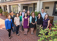 Emmons Health Center staff (Photo by Marc Campos, Occidental College Photographer)