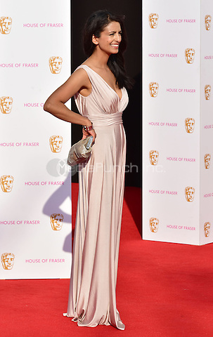 LONDON, ENGLAND - MAY 08: Konnie Huq at he British Academy (BAFTA) Television Awards 2016, Royal Festival Hall, Belvedere Road, London, England, UK, on Sunday 08 May 2016.<br /> CAP/JOR<br /> &copy;JOR/Capital Pictures /MediaPunch ***NORTH AMERICA AND SOUTH AMERICA ONLY***