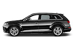 Car Driver side profile view of a 2016 Audi Q7 S Line 5 Door Suv Side View