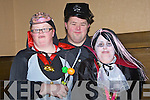 FANCY DRESS: Cathy Kirby, Jimmy Moore and Melissa Griffin from St John of God at their annual Halloween Disco on Thursday night in the Grand Hotel, Tralee................... ....................