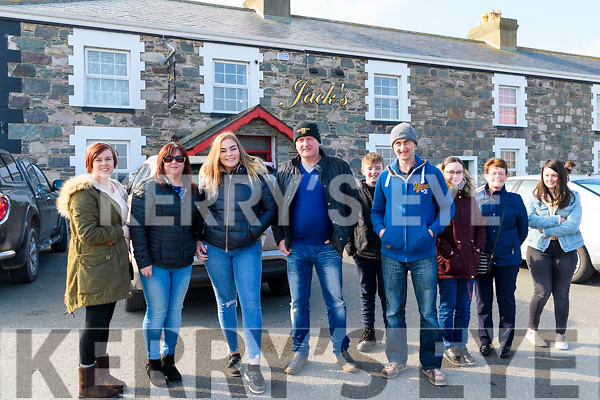 At The Red Fox Tractor Run at the Red Fox on Sunday<br /> L-R: Outside Jacks' Coastguard Restaurant Kisha Foley, Christina Foley, Chloe Teahan, John &amp; Batty Cahillane, with Aisling, Kathleen &amp; Suzanne Murphy