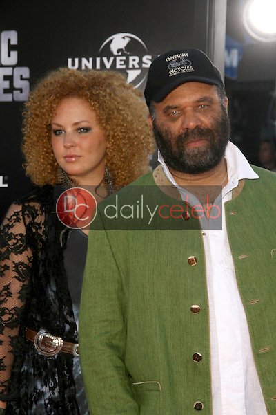 Otis Taylor and daughter<br />at the Los Angeles Premiere of 'Public Enemies'. Mann Village, Westwood, CA. 06-23-09<br />Dave Edwards/DailyCeleb.com 818-249-4998