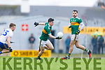 Paul Murphy  Kerry in action against Conor McCarthy Monaghan during the Allianz Football League Division 1 Round 5 match between Kerry and Monaghan at Fitzgerald Stadium in Killarney, on Sunday.