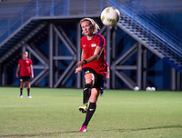 Manaus, Brazil - August 8, 2016:  The USWNT trains in preparation for their final group game of the 2016 Olympic games at Amazonia Arena.