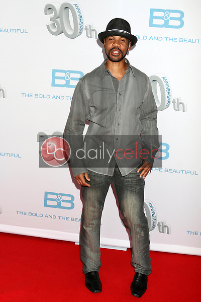"""Aaron D. Spears<br /> at the """"The Bold and The Beautiful"""" 30th Anniversary Party, Clifton's Downtown, Los Angeles, CA 03-18-17<br /> David Edwards/DailyCeleb.com 818-249-4998"""