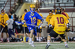 Los Angeles, CA 02/01/14 - CP Peralla (UCSB #12) and Jordan Shuchmann (USC #10)