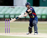 Sean Dickson bats for Kent during the T20 friendly between Kent and the Netherlands at the St Lawrence Ground, Canterbury, on July 3, 2018