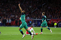 Lucas of Tottenham Hotspur celebrates scoring the first goal during AFC Ajax vs Tottenham Hotspur, UEFA Champions League Football at the Johan Cruyff Arena on 8th May 2019