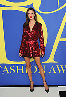 ABROOKLYN, NY - JUNE 4: Alessandra Ambrosio at the 2018 CFDA Fashion Awards at the Brooklyn Museum in New York City on June 4, 2018. <br /> CAP/MPI/JP<br /> &copy;JP/MPI/Capital Pictures