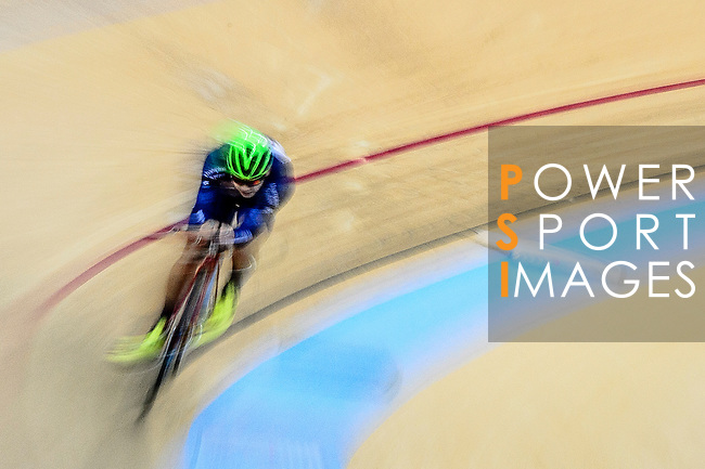 Chau Dor Ming Dormino of Team Champion System-CSR during the Track Cycling Race 2016-17 Series 3 at the Hong Kong Velodrome on February 4, 2017 in Hong Kong, China. Photo by Marcio Rodrigo Machado / Power Sport Images