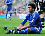 Chelsea's Michael Ballack. during the Premier League match at the St James' Park Stadium, Newcastle. Picture date 5th May 2008. Picture credit should read: Richard Lee/Sportimage