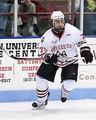 Cody Ferriero (Northeastern - 79) - The Northeastern University Huskies defeated the visiting Boston College Eagles 2-1 on Saturday, February 19, 2011, at Matthews Arena in Boston, Massachusetts.