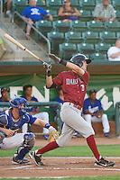 Logan Davis (20) of the Idaho Falls Chukars at bat against the Ogden Raptors at Lindquist Field on September 5, 2013 in Ogden Utah.  (Stephen Smith/Four Seam Images)
