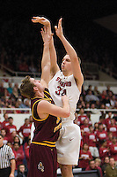 STANFORD, CA - JANUARY 2:  Stanford Cardinal Will Paul during Stanford's 90-60 loss to the Arizona State Sun Devils on January 2, 2009 at Maples Pavilion in Stanford, California.