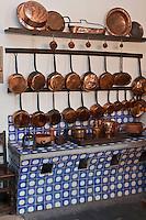 Europe/France/Aquitaine/64/Pyrénées-Atlantiques/Pays-Basque/Saint-Jean-de-Luz: Maison Louis XIV, Maison d'armateur  luzien du XVIIème. - La Cuisine: le potager