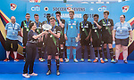 Stoke City are the Plate Final Winners of the Main tournament of the HKFC Citi Soccer Sevens on 22 May 2016 in the Hong Kong Footbal Club, Hong Kong, China. Photo by Lim Weixiang / Power Sport Images