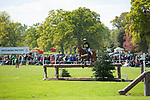 Badminton, Gloucestershire, United Kingdom, 4th May 2019, Alicia Hawker riding Charles RR during the Cross Country Phase of the 2019 Mitsubishi Motors Badminton Horse Trials, Credit:Jonathan Clarke/JPC Images