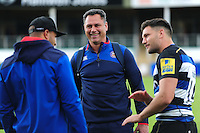 Bath Rugby Head Coach Tabai Matson looks on after the match. Pre-season friendly match, between the Scarlets and Bath Rugby on August 20, 2016 at Eirias Park in Colwyn Bay, Wales. Photo by: Patrick Khachfe / Onside Images