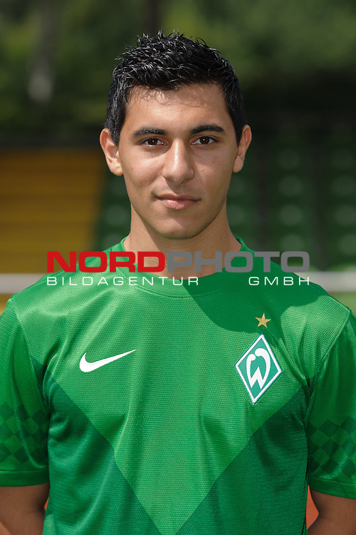 30.07.2012, Platz 11, Bremen, GER, RLN, Spielerportraits Werder Bremen II, im Bild &Ouml;zkan / Oezkan Yildirim (Bremen #32)<br /> <br /> // during photo shooting Werder Bremen II on 2012/07/30, Platz 11, Bremen, Germany.<br /> Foto &copy; nph / Frisch *** Local Caption ***