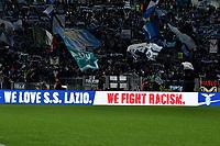 Lazio against racism. Supporters <br /> Roma 30-10-2019 Stadio Olimpico <br /> Football Serie A 2019/2020 <br /> SS Lazio - Torino FC<br /> Foto Andrea Staccioli / Insidefoto