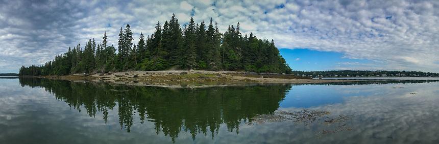 Nautilus Island, Castine, Maine, US