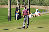 Padraig Harrington (IRL) putts on the 16th green during Friday's Round 2 of the 2018 Turkish Airlines Open hosted by Regnum Carya Golf &amp; Spa Resort, Antalya, Turkey. 2nd November 2018.<br /> Picture: Eoin Clarke | Golffile<br /> <br /> <br /> All photos usage must carry mandatory copyright credit (&copy; Golffile | Eoin Clarke)