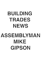 Building Trades News Assemblyman Mike Gipson