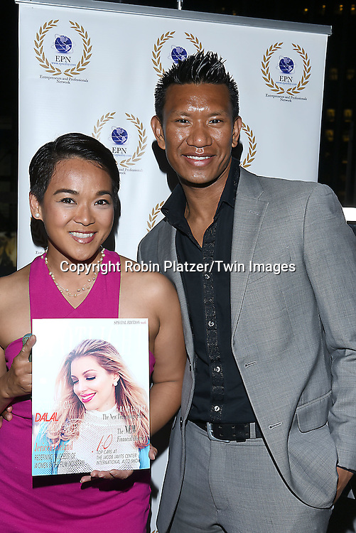 attends the &quot;EPN Spotlight Magazine&quot;  launch party on June 10, 2016 at the Renaissance NY Hotel in New York, New York, USA. Dalal Bruchmann is the cover model.<br /> <br /> photo by Robin Platzer/Twin Images<br />  <br /> phone number 212-935-0770