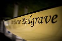 Henley. Berks, United Kingdom. <br /> <br /> Royal Regatta Boat Tent Racked Eight,  [Sir Steve REDGRACE. 2017 Henley' Women's Regatta. Rowing on, Henley Reach. River Thames. <br /> <br /> <br /> Sunday  18/06/2017<br /> <br /> <br /> [Mandatory Credit Peter SPURRIER/Intersport Images]