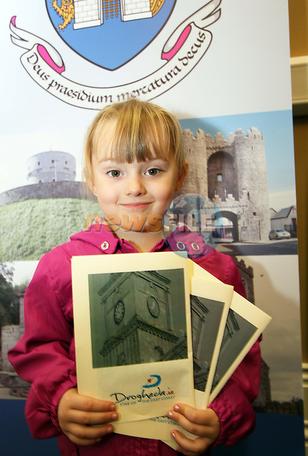 Leah Mohan at the Official Opening of the Tholsel and the new Tourist Office...Picture Jenny Matthews/Newsfile.ie