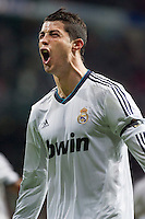 Cristiano Ronaldo Celebrates his goal against Atletico de Madrid