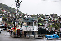"June 16, 2018: A police outpost remains abandoned after it was targeted several times by gunmen in ""La Garita"", a violence-plagued neighbourhood in Acapulco, Guerrero. A juncture of security forces, among them military, marines, federal police and local police joined under one-command to fight crime violence in the once-glamorous resort destination."
