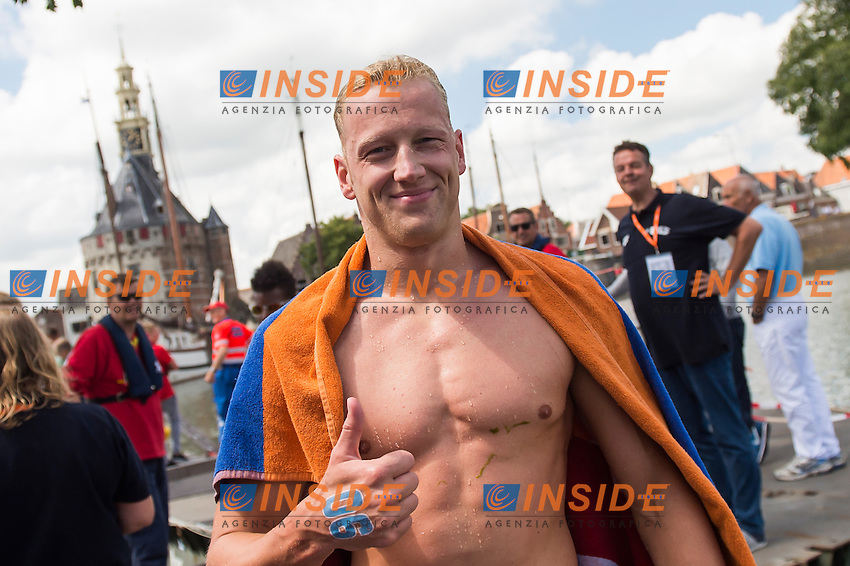 WEERTMAN Ferry NED <br /> Hoorn, Netherlands <br /> LEN 2016 European Open Water Swimming Championships <br /> Open Water Swimming<br /> Men's 5km<br /> Day 02 12-07-2016<br /> Photo Giorgio Perottino/Deepbluemedia/Insidefoto