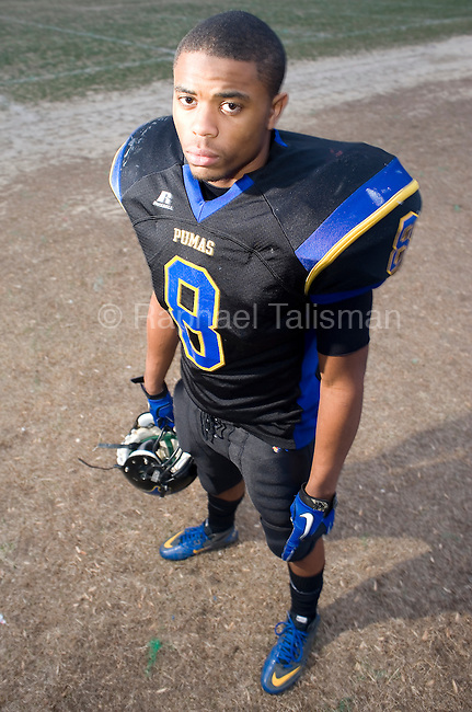 The Gazette Rayshaud Shields of Wise High School is the Gazette defensive player of the year.
