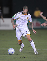 Los Angeles Galaxy midfielder David Beckham (23)  DC United tied with Los Angeles Galaxy 0-0 at RFK Stadium, Saturday August 22, 2009.