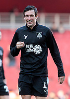 Burnley's Jack Cork is all smiles during the pre-match warm-up <br /> <br /> Photographer David Shipman/CameraSport<br /> <br /> The Premier League - Arsenal v Burnley - Saturday 22nd December 2018 - The Emirates - London<br /> <br /> World Copyright © 2018 CameraSport. All rights reserved. 43 Linden Ave. Countesthorpe. Leicester. England. LE8 5PG - Tel: +44 (0) 116 277 4147 - admin@camerasport.com - www.camerasport.com