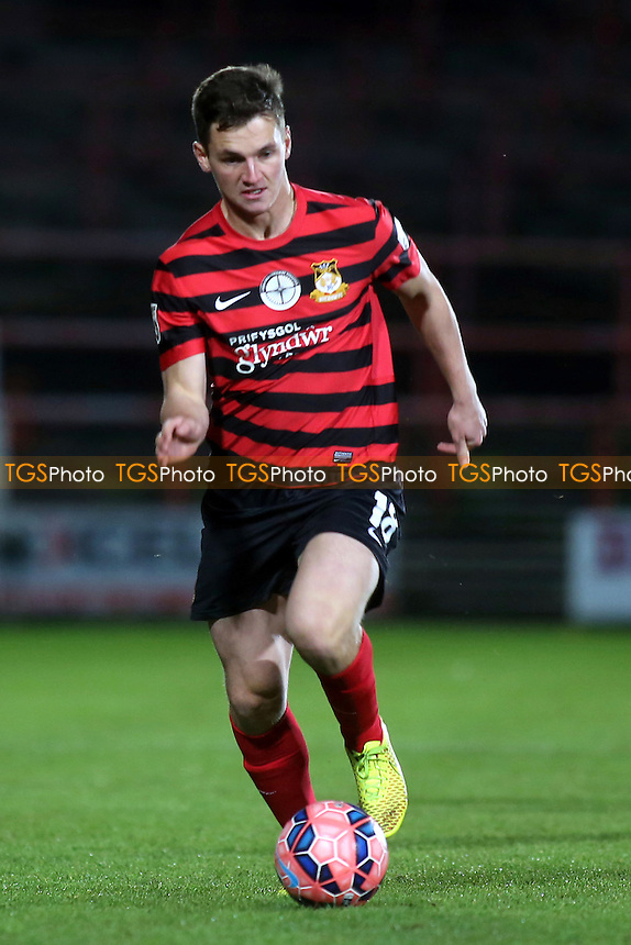 Ross White of Wrexham - Wrexham vs Maidstone United - FA Challenge Cup 2nd Round Football at the Racecourse Ground, Wrexham, Wales - 06/12/14 - MANDATORY CREDIT: Paul Dennis/TGSPHOTO - Self billing applies where appropriate - contact@tgsphoto.co.uk - NO UNPAID USE