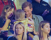 27.09.2017; Toronto, CANADA: POPCORN PRINCE<br />While watching the sitting volleball semi-finals between the British and Danish teams at the Mattamy Athletic Centre,  Prince Harry decided to indulge in some popcorn, which he gladly shared with little Emily Henson before calling time on it.<br />Emily was with parents David and Hayley Henson.<br /><br />Mandatory Photo Credit: &copy;Francis Dias/NEWSPIX INTERNATIONAL<br /><br />IMMEDIATE CONFIRMATION OF USAGE REQUIRED:<br />Newspix International, 31 Chinnery Hill, Bishop's Stortford, ENGLAND CM23 3PS<br />Tel:+441279 324672  ; Fax: +441279656877<br />Mobile:  07775681153<br />e-mail: info@newspixinternational.co.uk<br />Usage Implies Acceptance of Our Terms &amp; Conditions<br />Please refer to usage terms. All Fees Payable To Newspix International