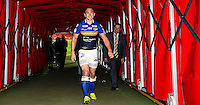 Picture by Alex Whitehead/SWpix.com - 10/10/2015 - Rugby League - First Utility Super League Grand Final - Leeds Rhinos v Wigan Warriors - Old Trafford, Manchester, England - Leeds captain Kevin Sinfield.