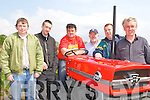 Denny Ryle, Shane Fitzgerald, Tommy Long Ardfert, Sean Tangney Killarney, Tomas Leen Ardfert and Denis Tangney checking out the Massey Ferguson tractors at the Vintage show in Keel on Sunday..