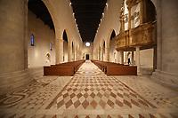 2019. l'Aquila dieci anni dopo il terremoto del 2009, Chiesa di Santa Maria di Colle Maggio Interno